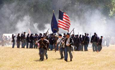 Civil War Reenactment, one of many fun Bend summertime events