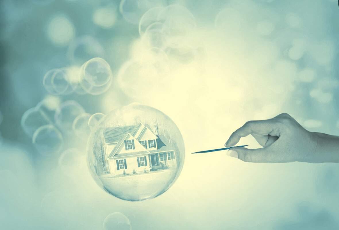 housing bubble burst