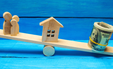 seesaw symbolizes dillema of affordable housing
