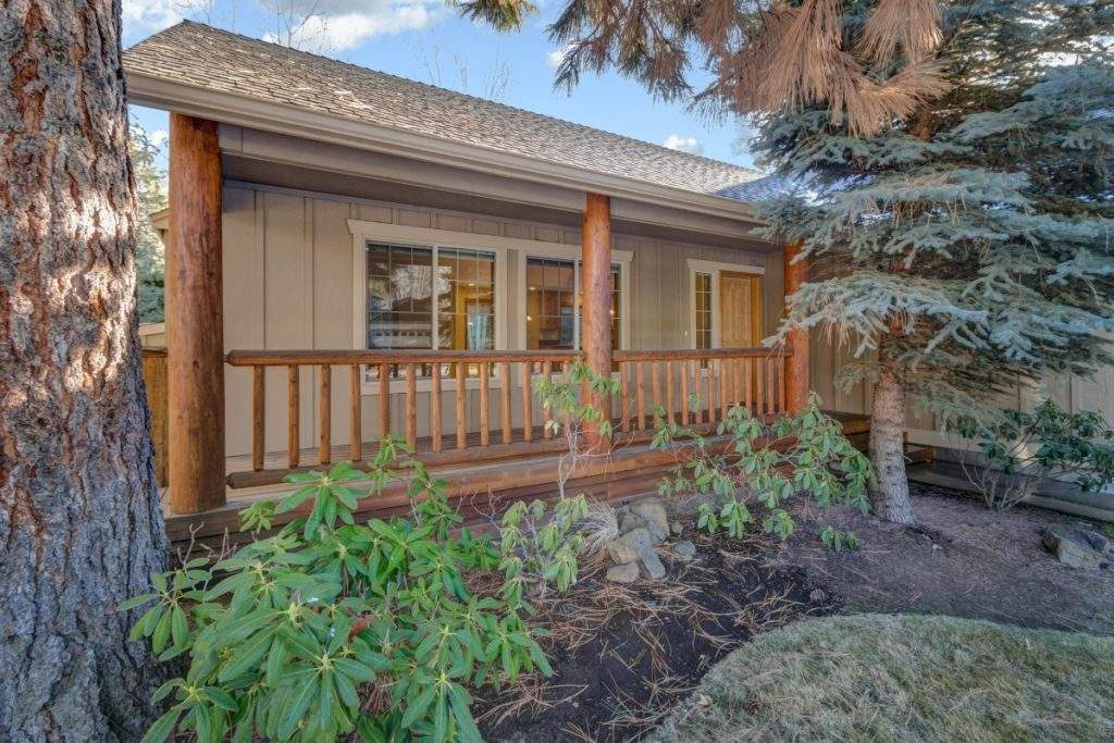 lohr real estate bend listing sawtooth mountain lane front porch