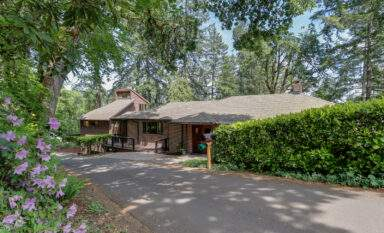 Real Estate Listing 1525 Prospect in Fairmount neighborhood, Eugene Oregon