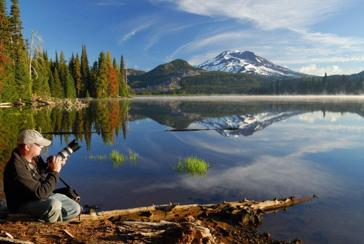 The South Sister view near Bend, Oregon 10/2013 | Sisters