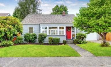 1950s vintage bungalow in Eugene, Oregon